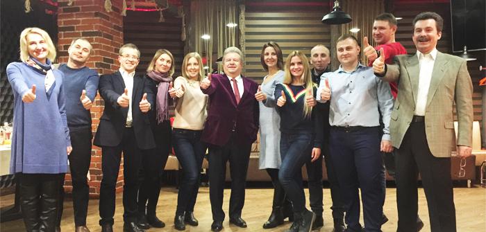 MICE-компании в гостях у ресторана «Київська Реберня»