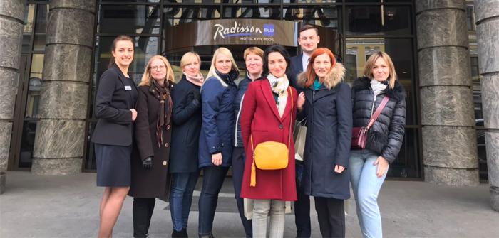 BTA Ukraine принимает гостей из Латвии