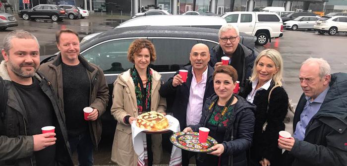 AirBaltic и BTA Ukraine принимают делегацию из Дании